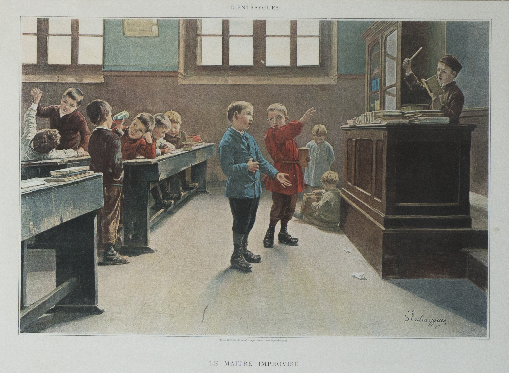 The improvised teacher