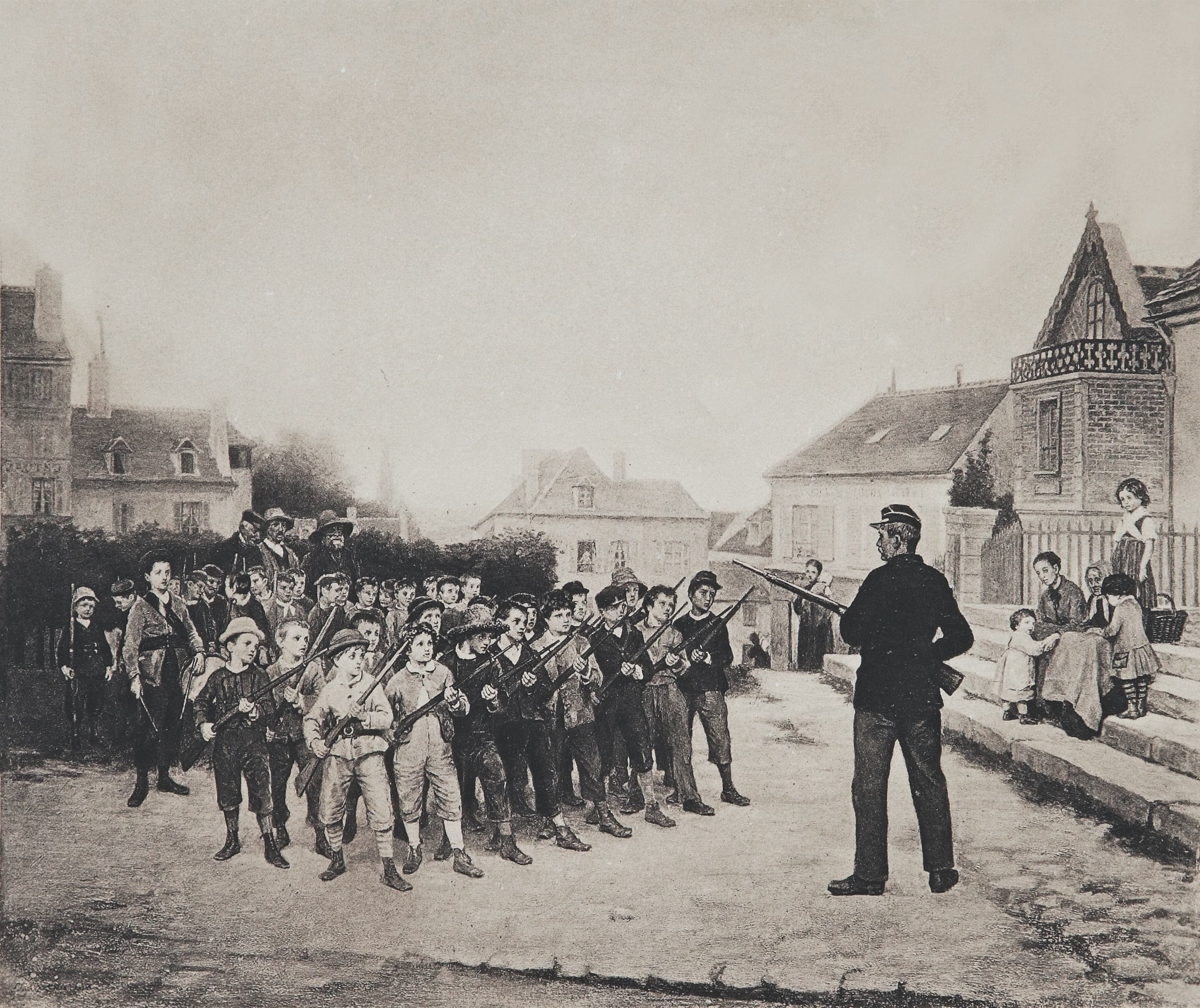 School batallion