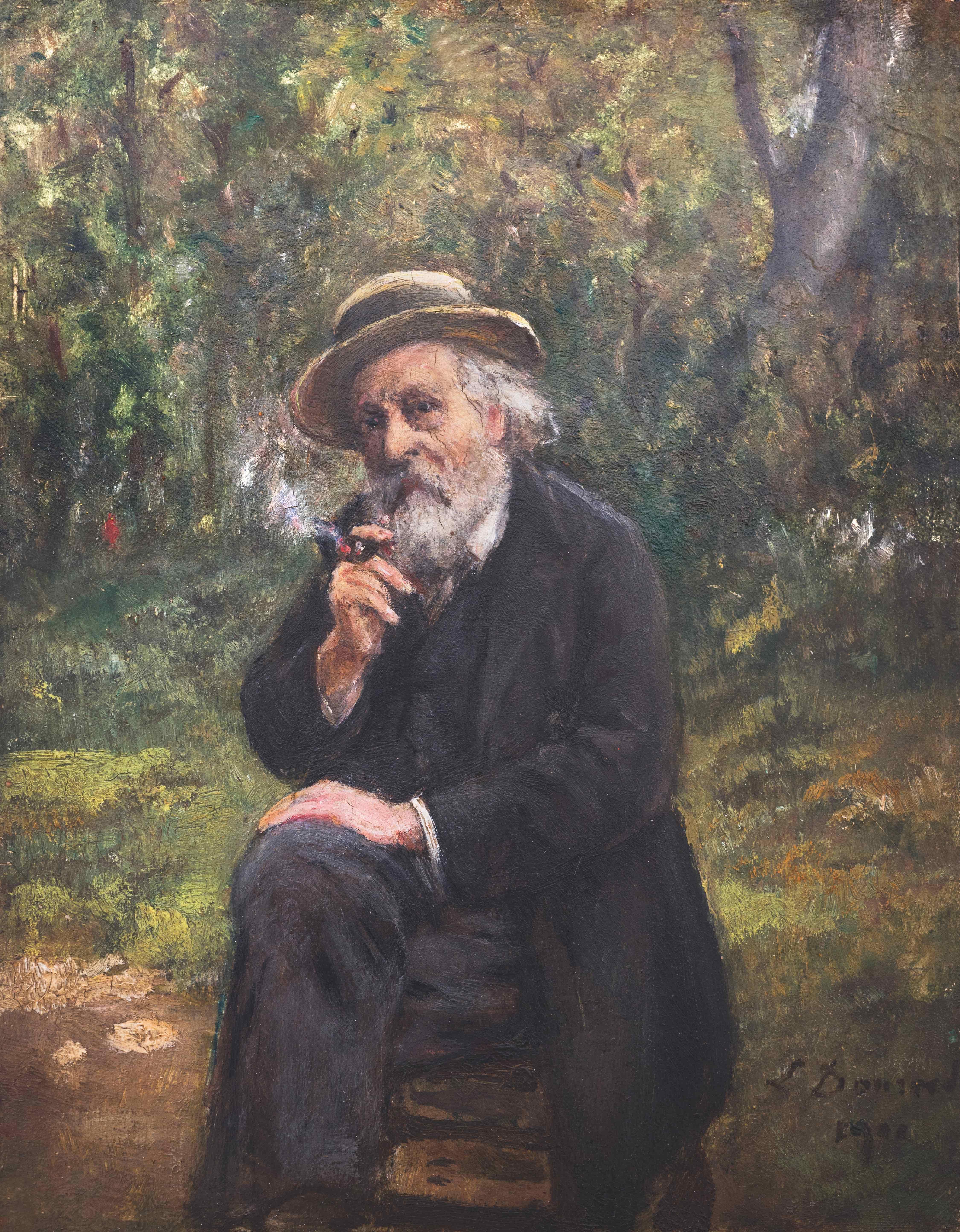 Léon dansaert auto-portrait