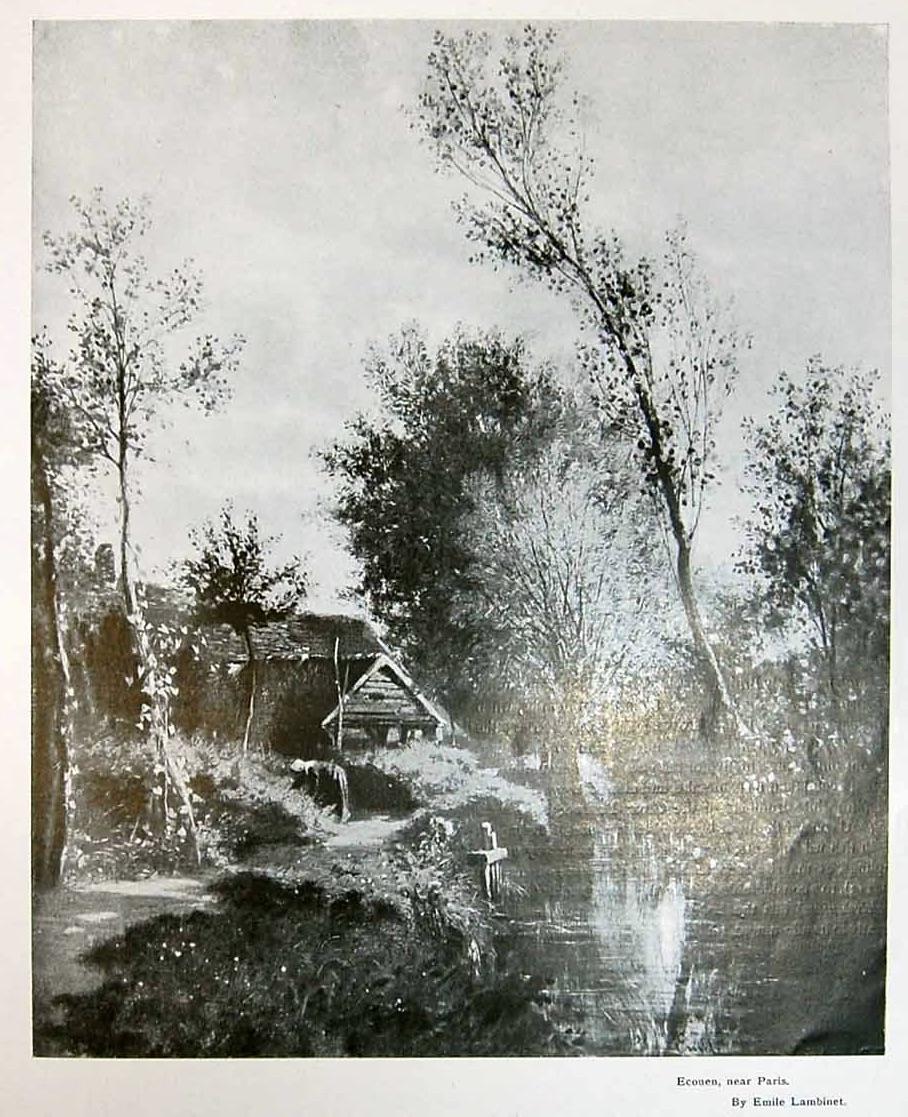 Landscape at Écouen