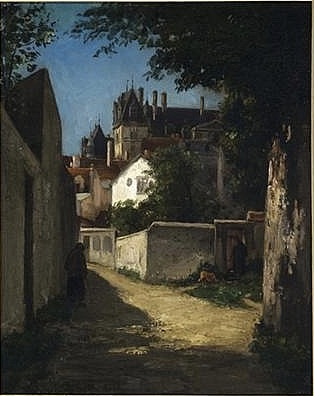 View of Ecouen (Vue d'Ecouen)