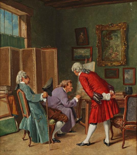 L'atelier du peintre (Dansaert)
