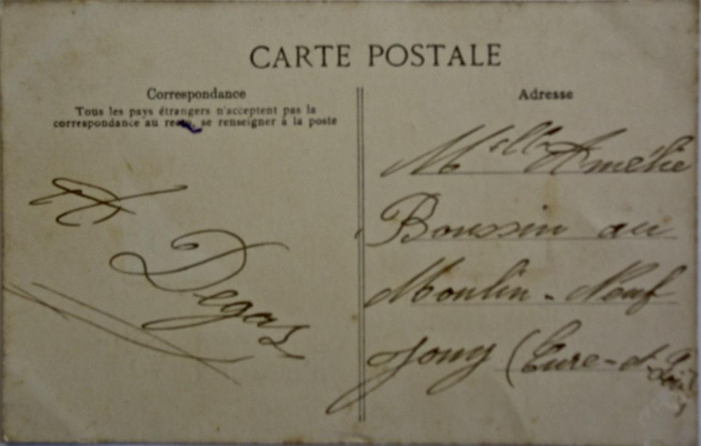 Carte postale vero