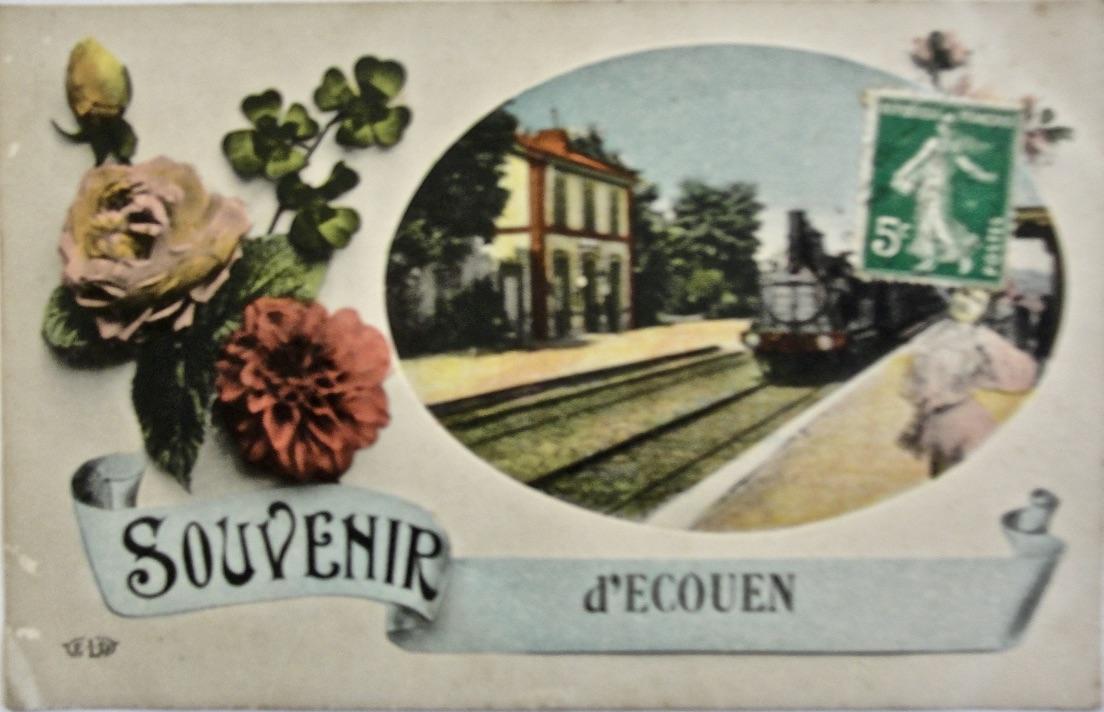 Carte postale recto