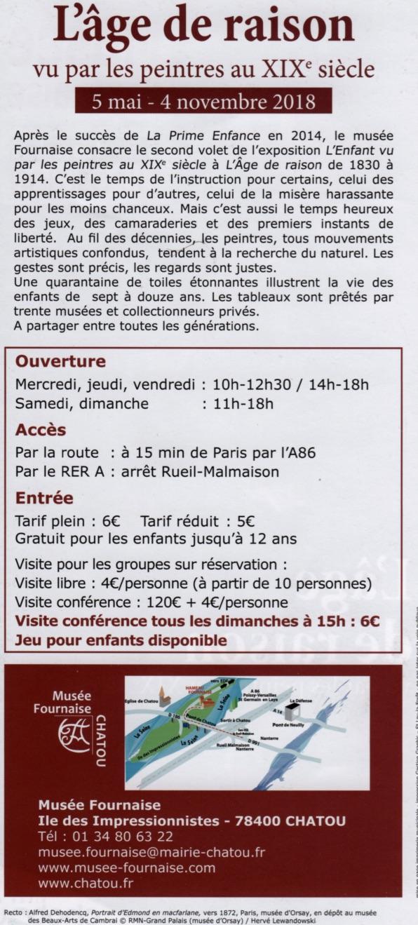 Back exhibition flyer