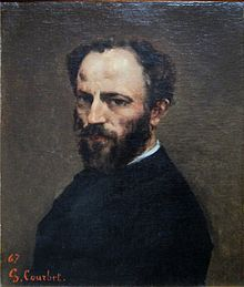 Amand Gautier by Courbet