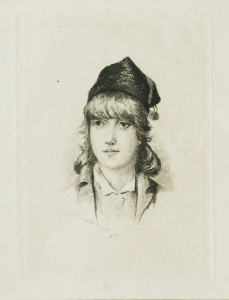 Portrait of a young man (Anna Formstecher)