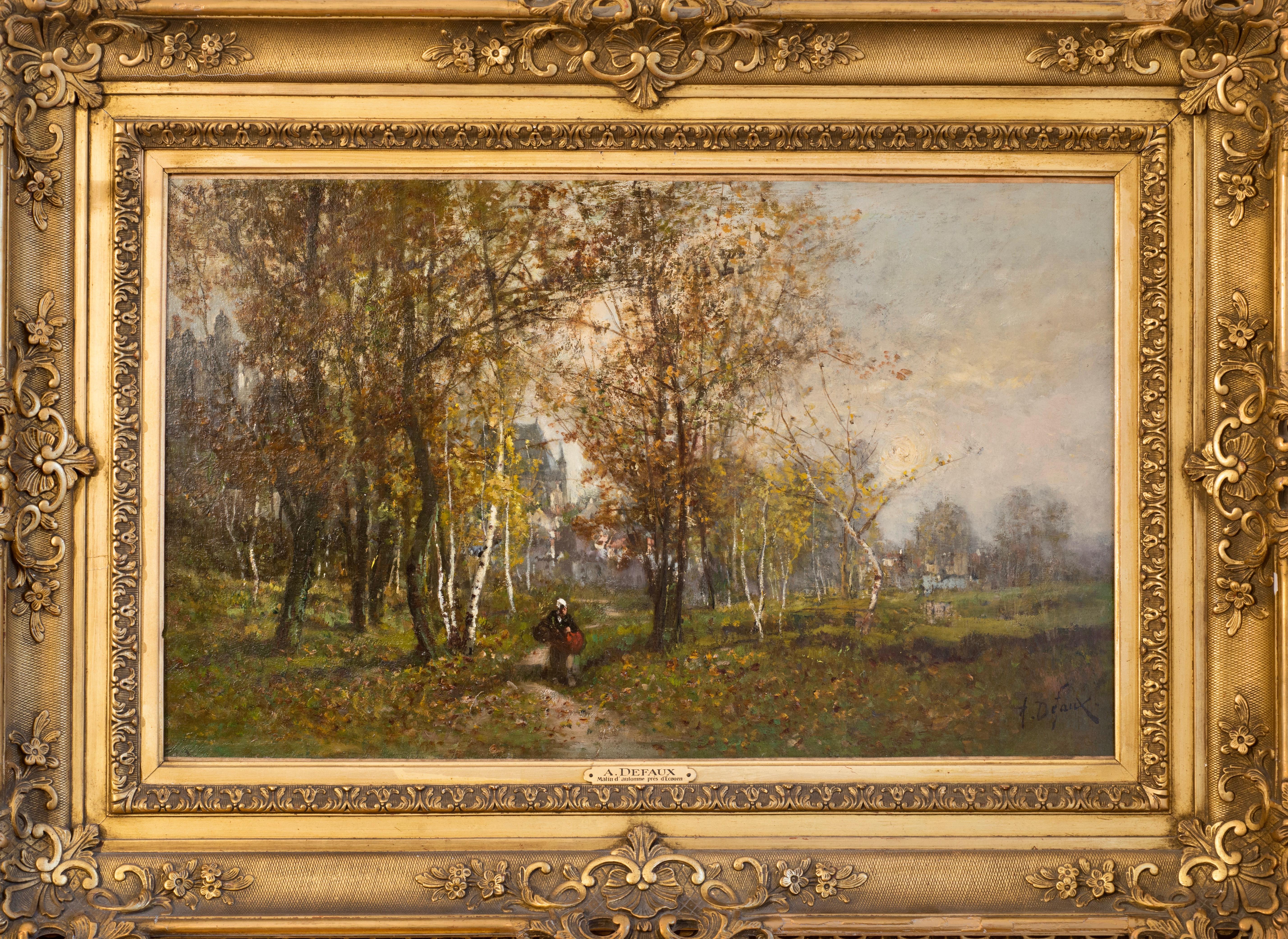 Defaux_The forest of Ecouen