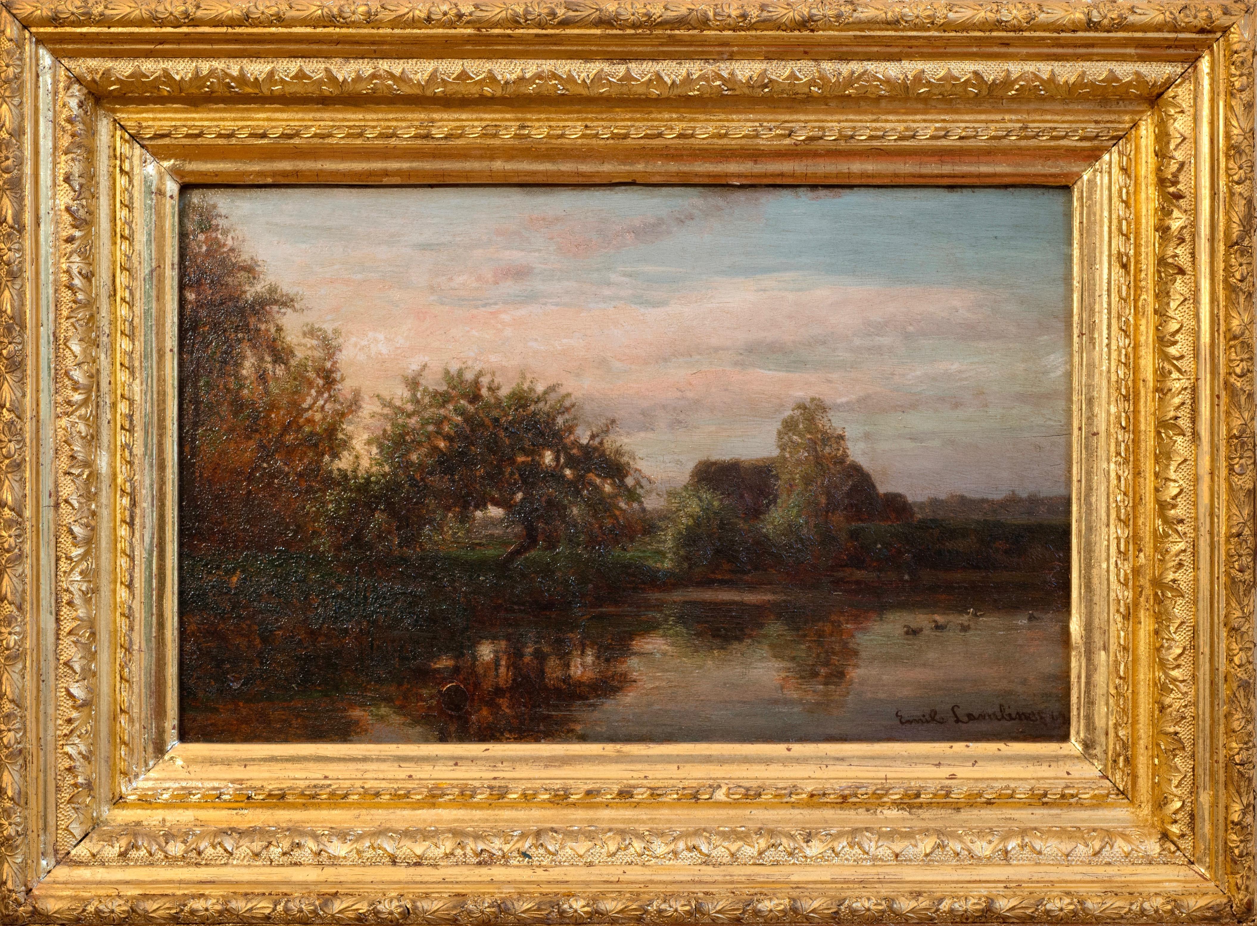 Lambinet_Along the Oise River