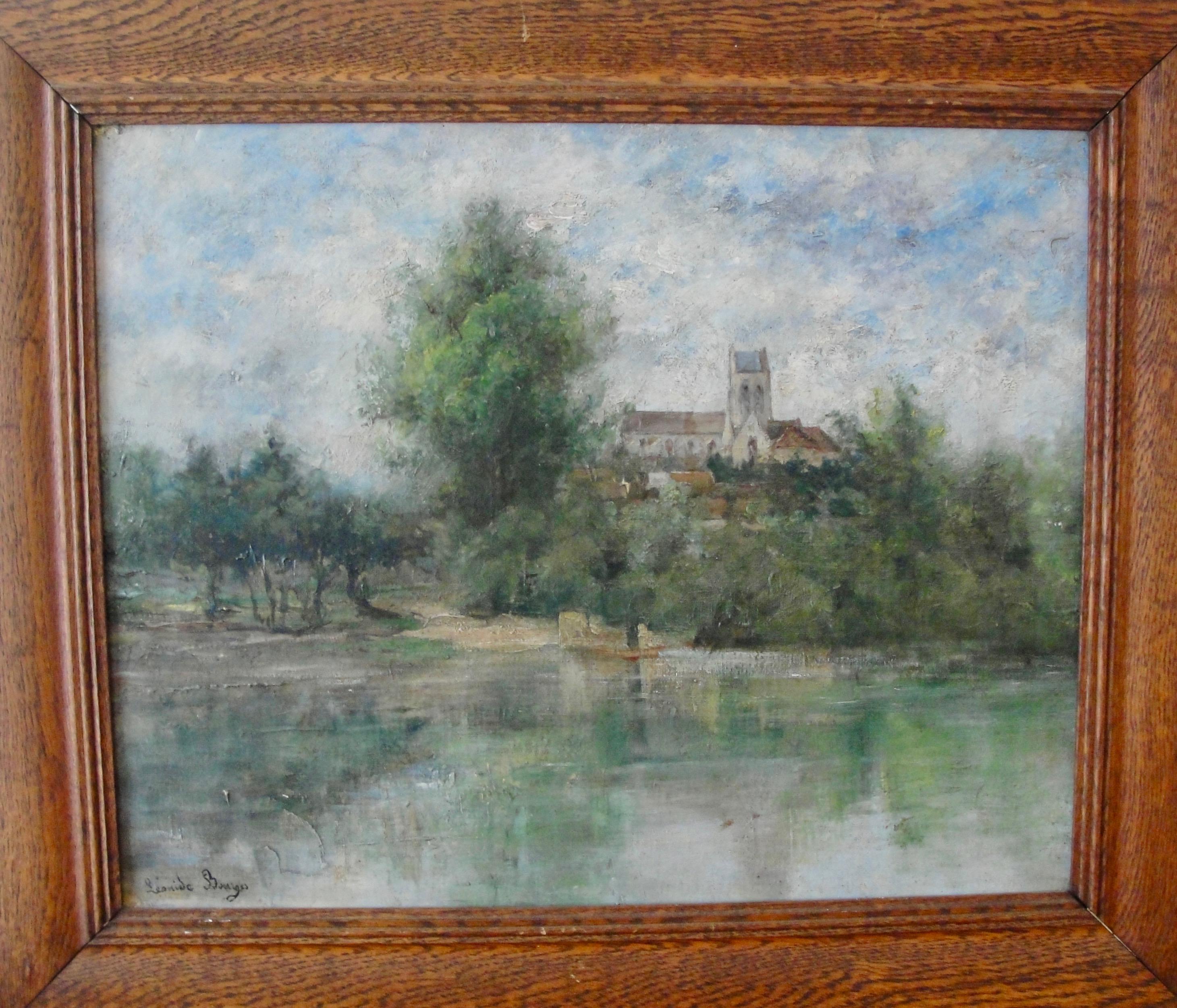 Leonide Bourges_View of Auvers-sur-Oise