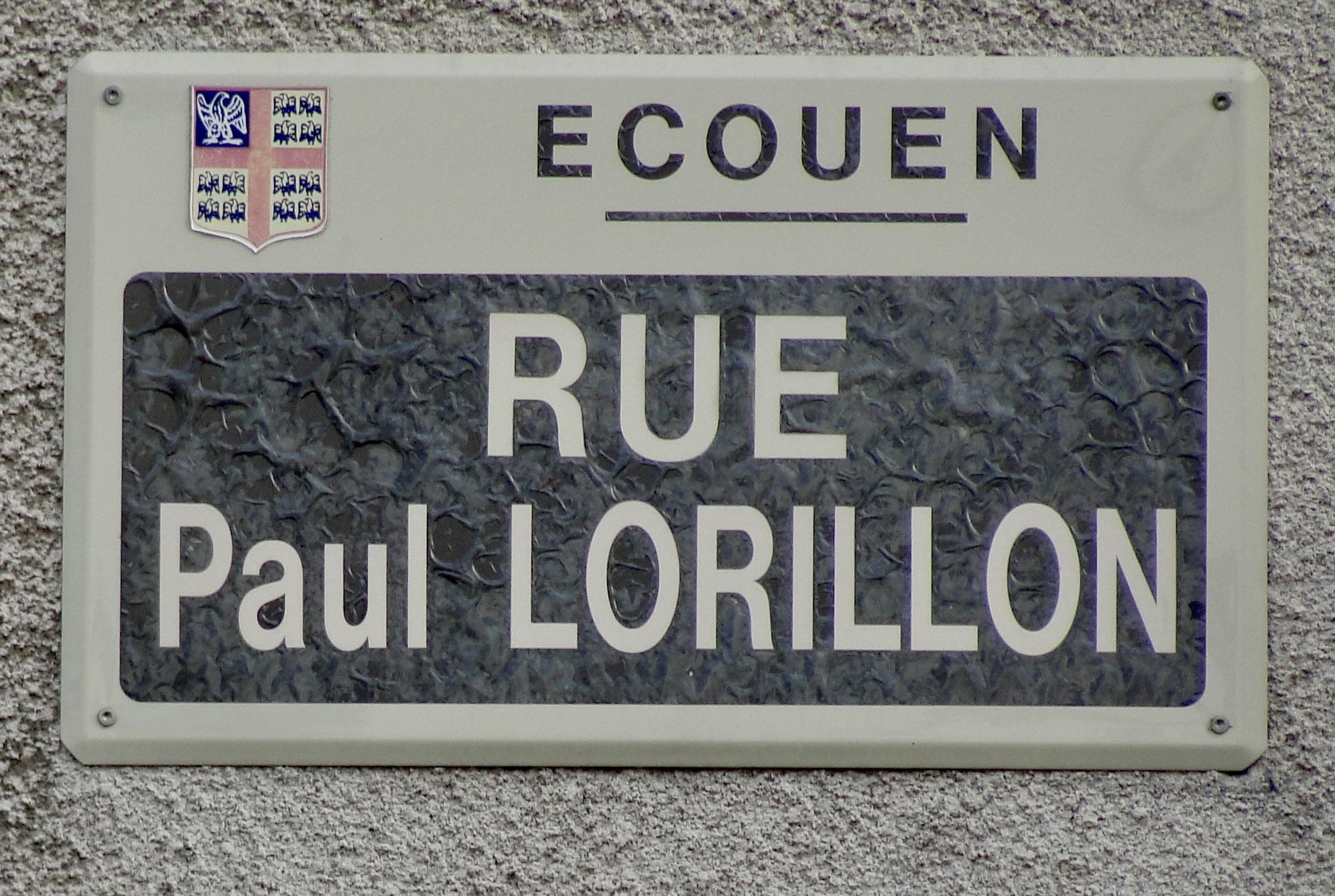 Plaque Lorillon