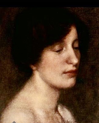 Portrait of Emma Lampert (Colin Campbell Cooper)