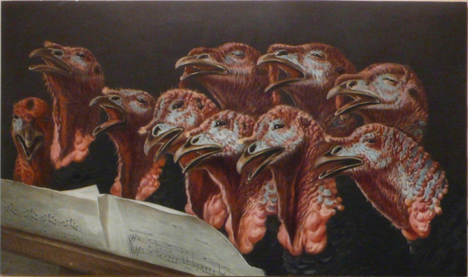The turkeys choir (Auguste Schenck)