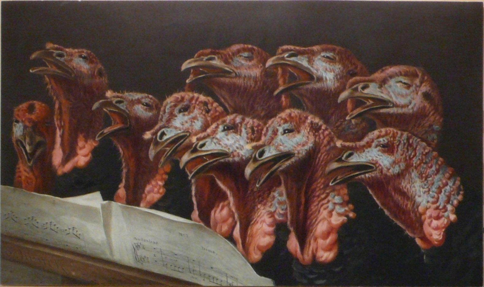Choeur de dindons (Auguste Schenck)