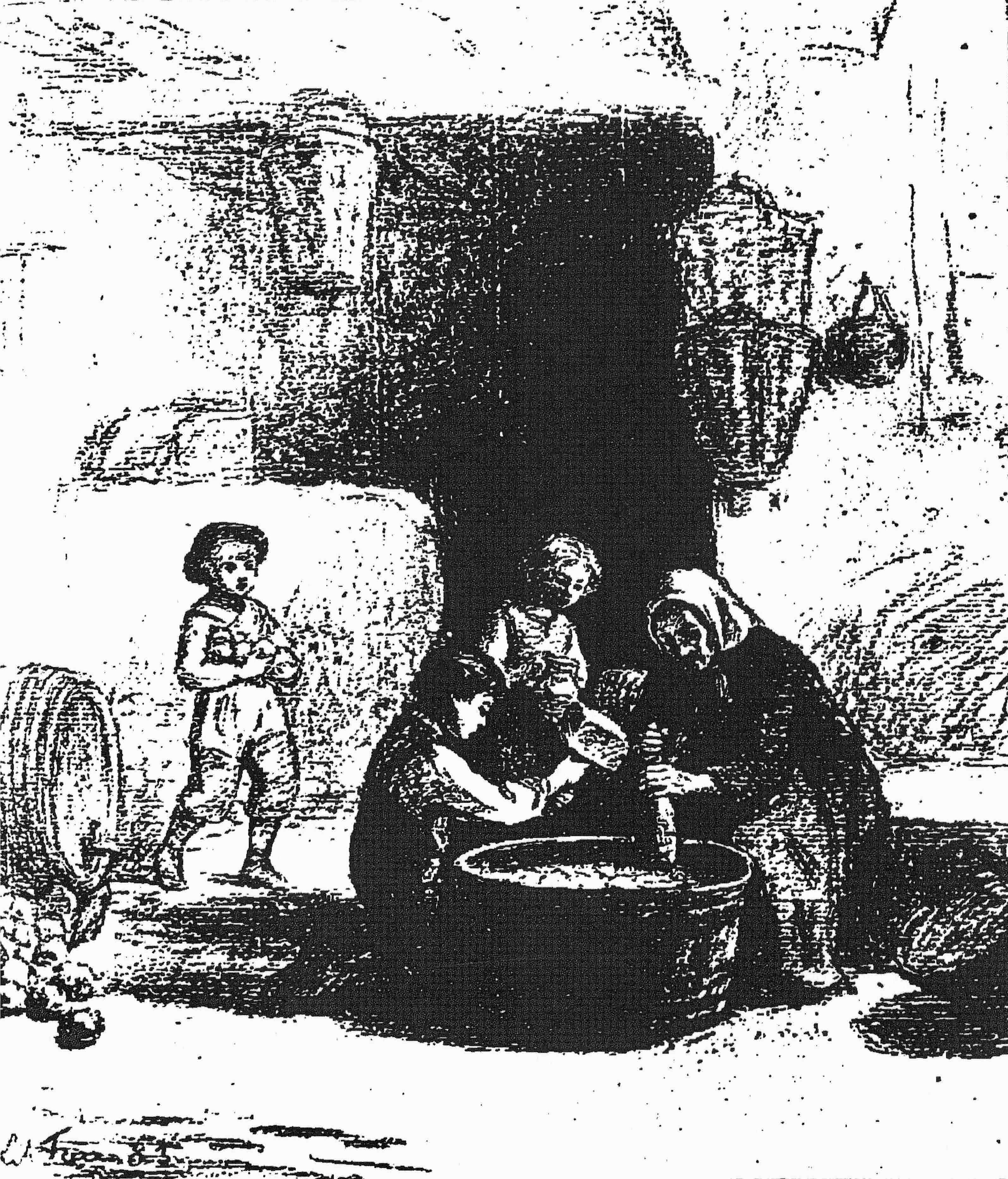 The poor people's cider (Pierre Edouard Frere)