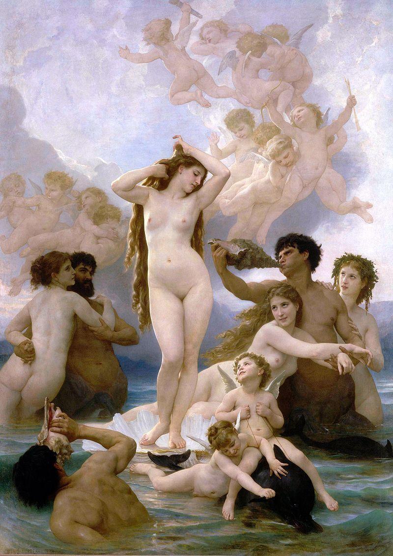 Naissance de Vénus (W. Bouguereau)