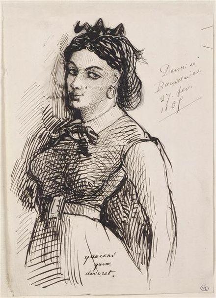 Jeanne_Duval par Baudelaire