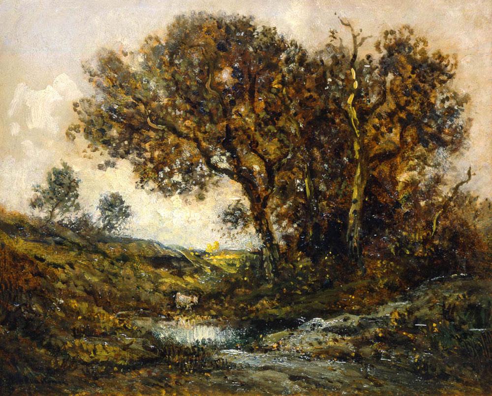 Paysage de forêt (Théodore Rousseau)